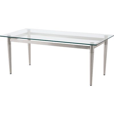 Ravenna Coffee Table Color: Brushed Steel