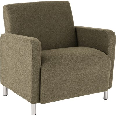 Ravenna Lounge Chair Upholstery: Axis Noir, Casters/Glides: Not Included