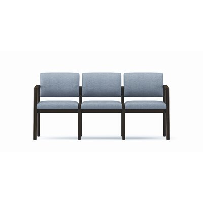 Lesro Lenox Three Seats - Frame Finish: Walnut, Fabric: Core - Macro at Sears.com