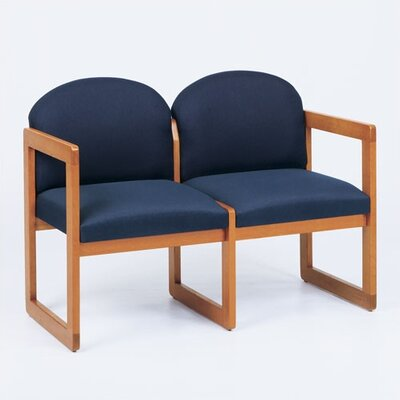 Lesro Classic Two Seats - Finish: Mahogany, Material: Renaissance Wineberry Vinyl at Sears.com