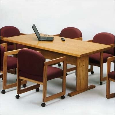 Contemporary Rectangular Conference Table