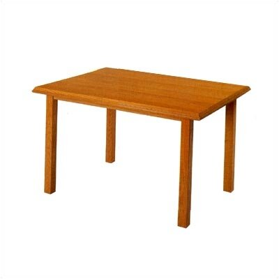 Contemporary Rectangular Conference Table Finish: Mahogany, Profile: Bullnose, Size: 4 L
