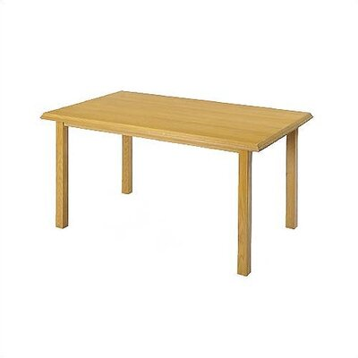 Contemporary Rectangular 30 H x 30 W x 48 L Conference Table Finish: Natural