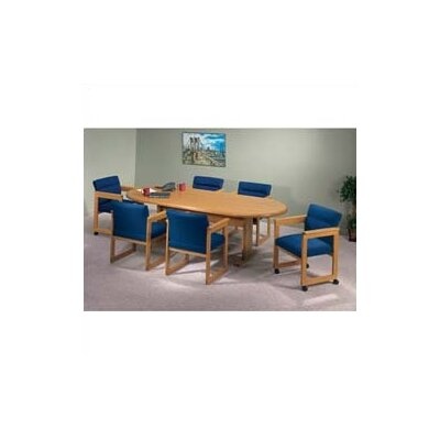 Contemporary Oval Conference Table Product Image 117