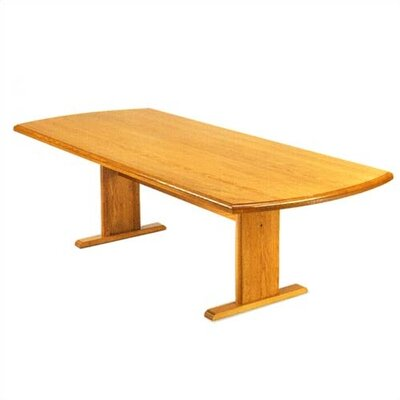 Contemporary Curved End Conference Table Product Image 6