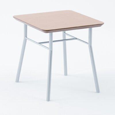 Lesro Mystic Series End Table - Table Top / Legs: Black / Silver at Sears.com
