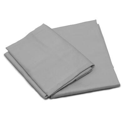 ThermalSense Temperature Balancing Pillow Case Color: Gray, Size: Standard
