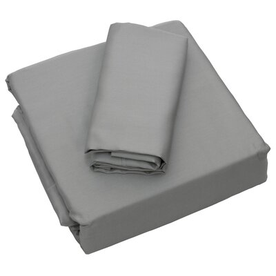 Cardinal 300 Thread Count Sheet Set Size: Twin, Color: Gray