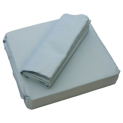ThermalSense 300 Thread Count Sheet Set Size: Full, Color: Sky Blue