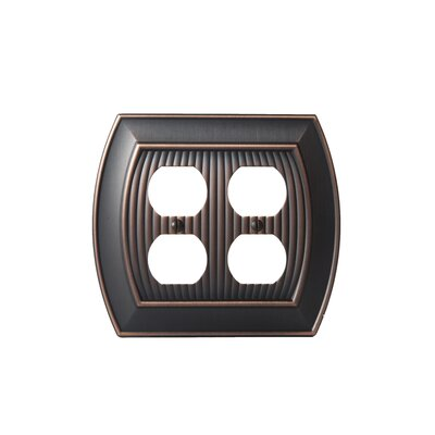 Allison Plug Outlet Wallplate Finish: Oil-Rubbed Bronze