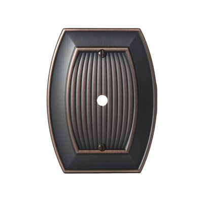 Allison Cable Wallplate Finish: Oil-Rubbed Bronze