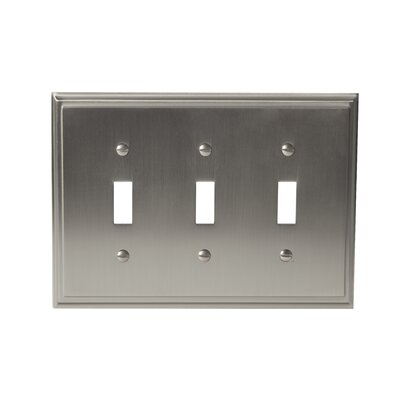 Mulholland Toggle Wallplate Finish: Satin Nickel