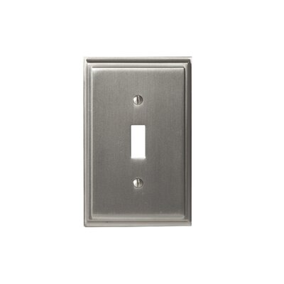Mulholland Toggle Wall plate Finish: Satin Nickel