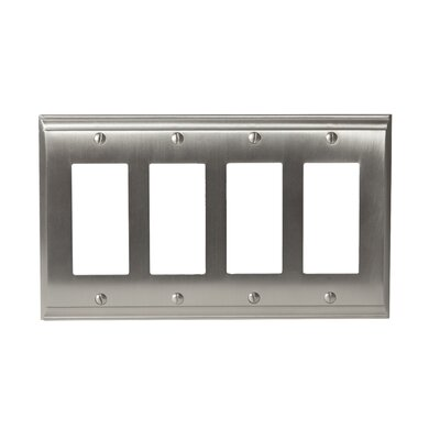 Candler Rocker Wallplate Finish: Satin Nickel