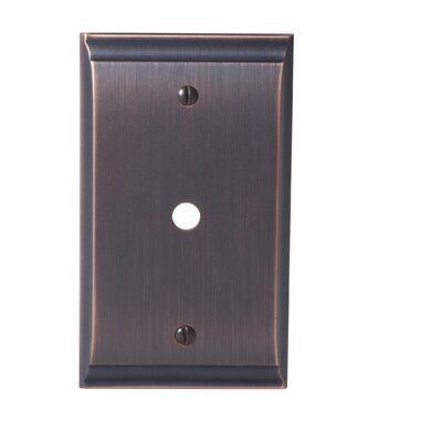 Candler Cable Wallplate Finish: Oil-Rubbed Bronze