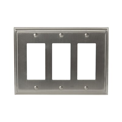 Mulholland Rocker Wallplate Finish: Satin Nickel