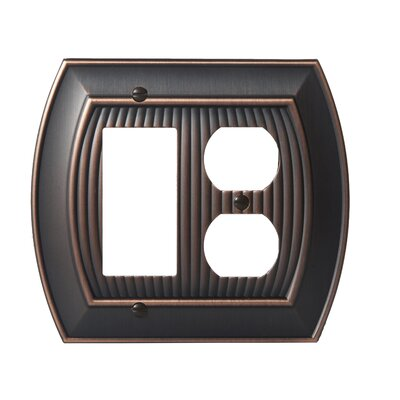 Allison Rocker 2 Plug Wallplate Finish: Oil-Rubbed Bronze