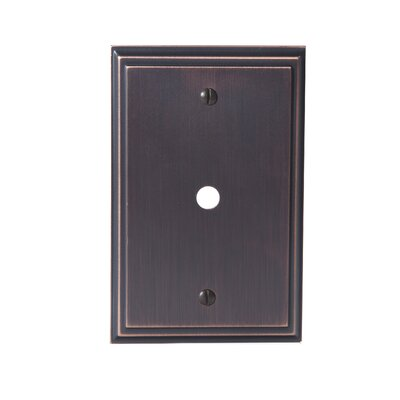 Mulholland Cable Wallplate Finish: Oil-Rubbed Bronze