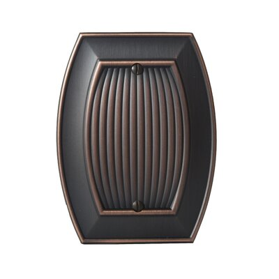 Allison Blank Wallplate Finish: Oil-Rubbed Bronze