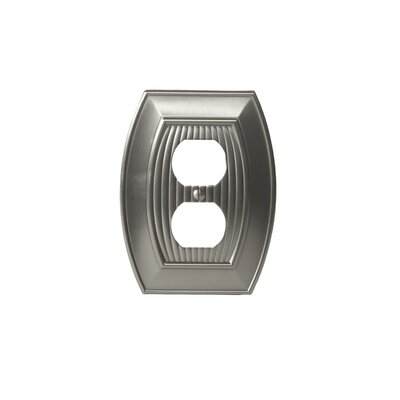 Allison Plug Outlet Wallplate Finish: Satin Nickel