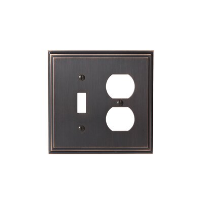 Mulholland Toggle 2 Plug Wallplate Finish: Oil-Rubbed Bronze