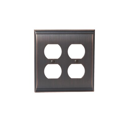 Candler Plug Outlet Wallplate Finish: Oil-Rubbed Bronze