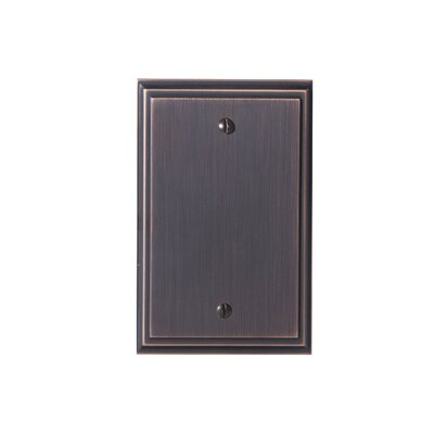 Mulholland Blank Wallplate Finish: Oil-Rubbed Bronze