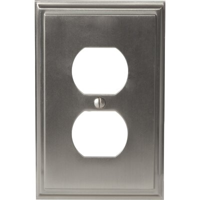 Mulholland Plug Outlet Wallplate Finish: Satin Nickel