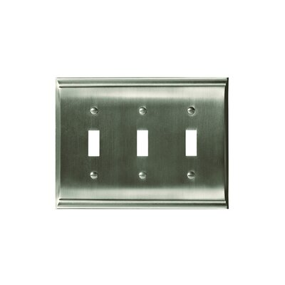 Candler Toggle Wallplate Finish: Satin Nickel