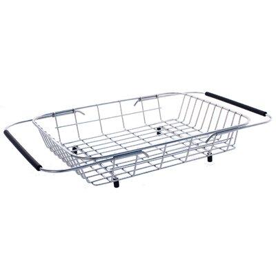 9.88 x 13.38 x 3.13 Stainless Steel Adjustable Basket