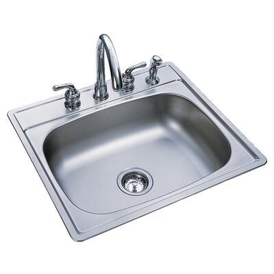 25 x 22 4 Hole Kitchen Sink
