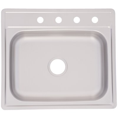 25 x 22 Hole Kitchen Sink