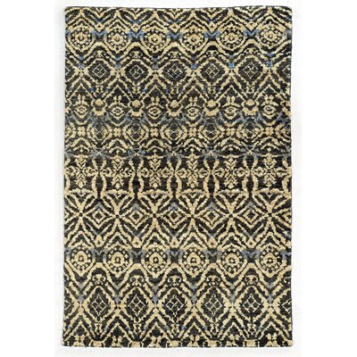 Tommy Bahama Ansley Black / Beige Geometric Rug Rug Size: Rectangle 5 x 8