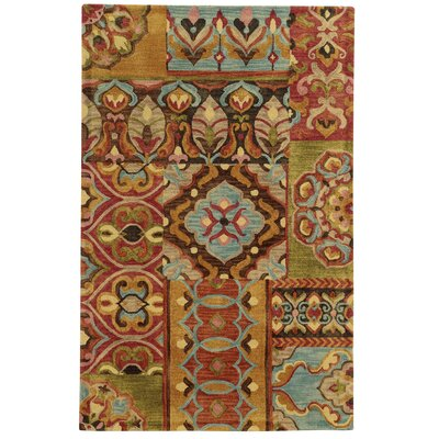Tommy Bahama Jamison Multi / Multi Geometric Rug Rug Size: Rectangle 5 x 8