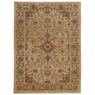 Tommy Bahama Vintage Beige / Multi Oriental Rug Rug Size: Rectangle 910 x 1210