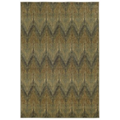 Tommy Bahama Voyage Blue / Beige Geometric Rug Rug Size: Rectangle 910 x 1210