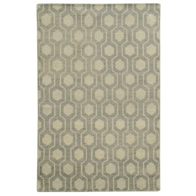 Tommy Bahama Maddox Blue / Beige Geometric Rug Rug Size: Rectangle 36 x 56
