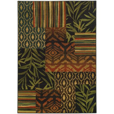 Villa Casual Floral Area Rug Rug Size: Rectangle 67 x 96