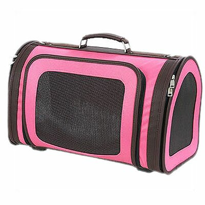 Classic Kelle Pet Carrier Size: Small (9 x 8 W x 14 L), Color: Fuchsia