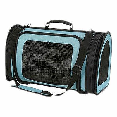Classic Kelle Pet Carrier Size: Large (10 H x 9.5 W x 18 L), Color: Turquoise