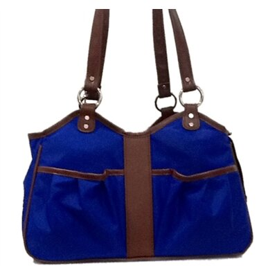 Metro 2 Pet Carier Size: Small (9 H x 8 W x 17 L), Color: Cobalt Blue