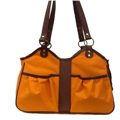 Metro 2 Pet Carier Size: Small (9 H x 8 W x 17 L), Color: Orange