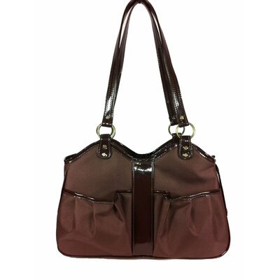 Metro Classicte Pet Carier Size: Large (11.5 H x 8.5 W x 20.5 L), Color: Chocolate
