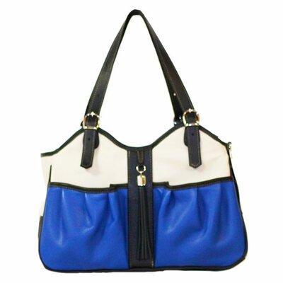Metro Couture Pet Carier Size: Large (11.5 H x 8.5 W x 20.5 L), Color: Cobalt