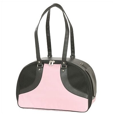 Classic Roxy Pet Carrier Size: Large (12 H x 8 W x 17 L), Color: Pink