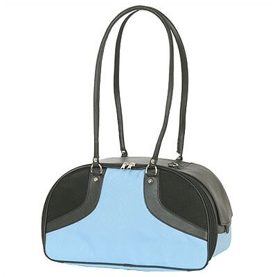 Classic Roxy Pet Carrier Size: Large (12 H x 8 W x 17 L), Color: Turquoise