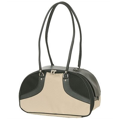 Classic Roxy Pet Carrier Size: Large (12 H x 8 W x 17 L), Color: Khaki
