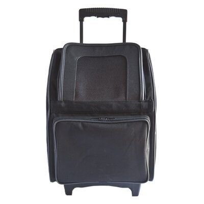 Maggiemae Pet Carrier Color: Black
