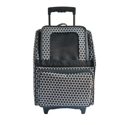 Rio Reverse Noir Dot Pet Carrier Color: Black