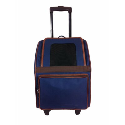 Maggiemae Pet Carrier Color: Navy